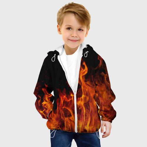 Детская куртка 3D Огонь Фото 01