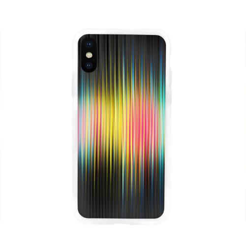 Чехол для Apple iPhone X силиконовый глянцевый  Фото 01, Спектр