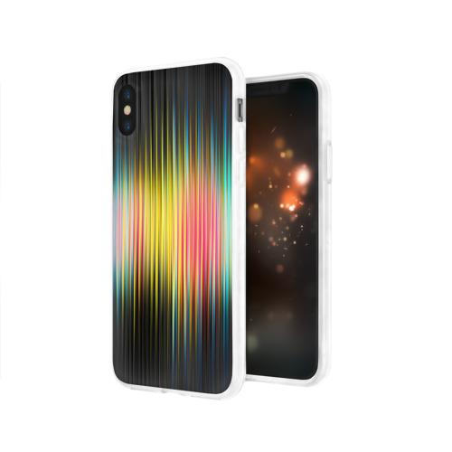 Чехол для Apple iPhone X силиконовый глянцевый  Фото 03, Спектр