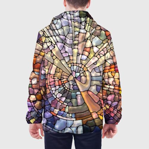 Мужская куртка 3D  Фото 05, Прикольная мозаика