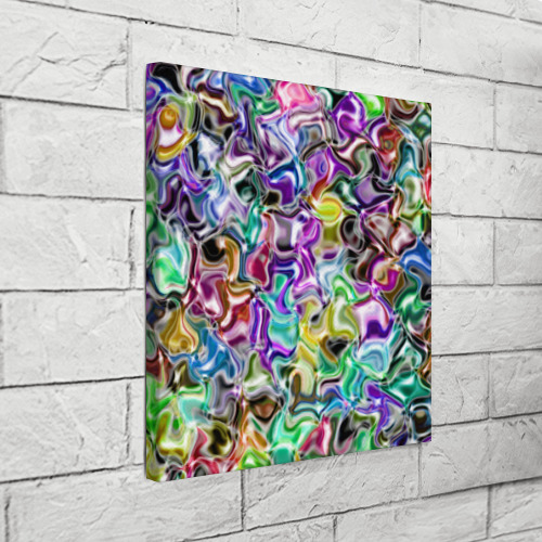 Холст квадратный  Фото 03, Цветное безумие