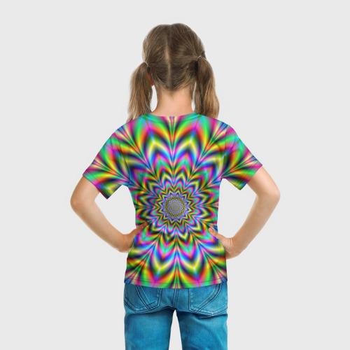 Детская футболка 3D Красочная иллюзия Фото 01