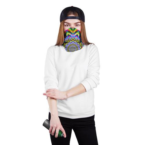Бандана-труба 3D  Фото 02, Красочная иллюзия