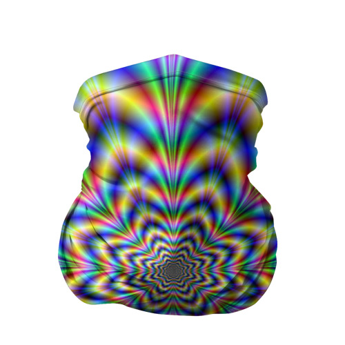 Бандана-труба 3D  Фото 01, Красочная иллюзия