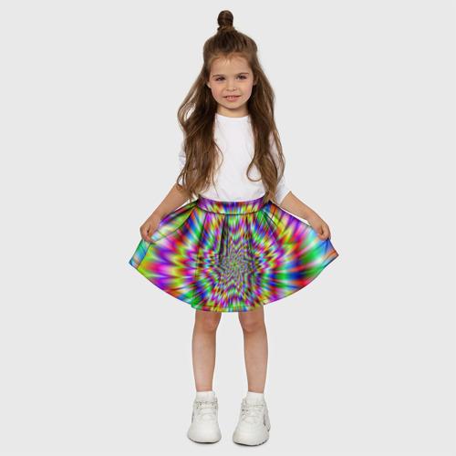 Детская юбка-солнце 3D  Фото 03, Спектральная иллюзия