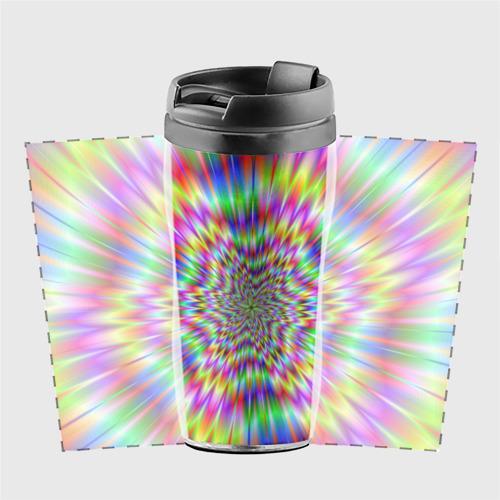 Термокружка-непроливайка  Фото 02, Спектральная иллюзия