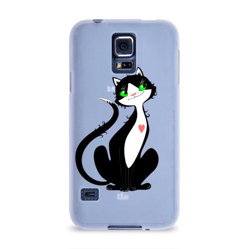 Чехол для Samsung Galaxy S5 силиконовый  Фото 01, Она