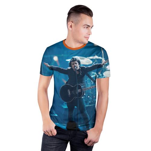 Мужская футболка 3D спортивная 21 Guns Фото 01