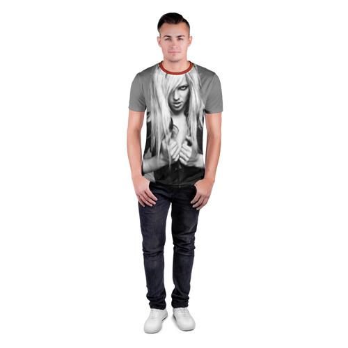 Мужская футболка 3D спортивная  Фото 04, Бритни Спирс