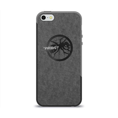 Чехол силиконовый глянцевый для Телефон Apple iPhone 5/5S The Prodigy от Всемайки