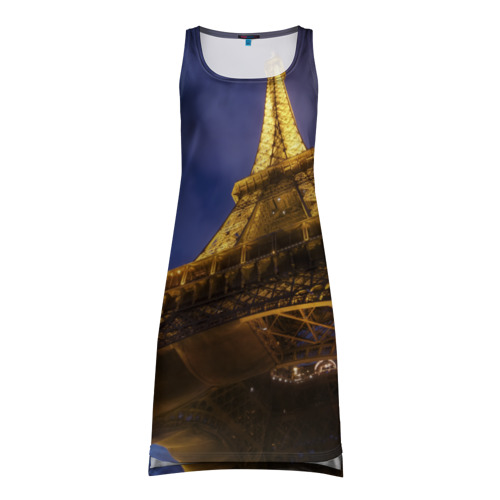 Платье-майка 3D Paris