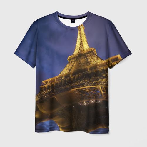 Мужская футболка 3D  Фото 01, Paris