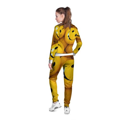 Женская олимпийка 3D  Фото 04, Смайлы