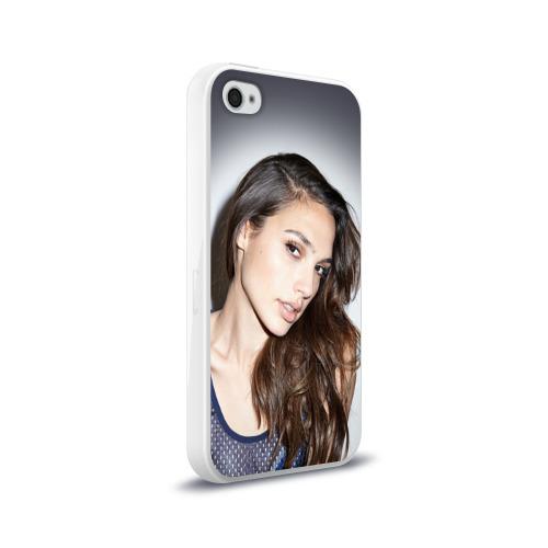 Чехол для Apple iPhone 4/4S силиконовый глянцевый  Фото 02, Галь Гадот