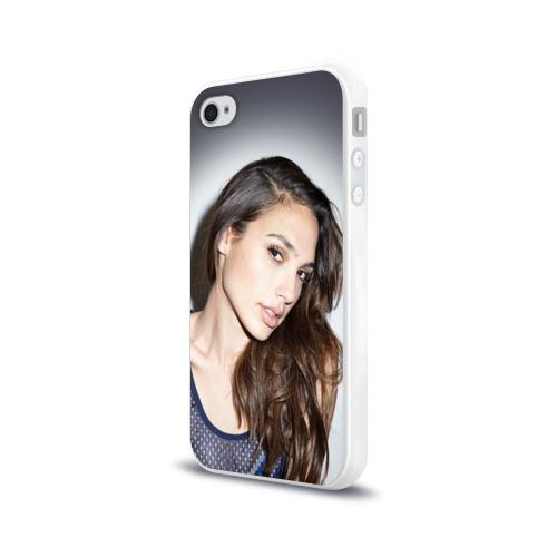 Чехол для Apple iPhone 4/4S силиконовый глянцевый  Фото 03, Галь Гадот