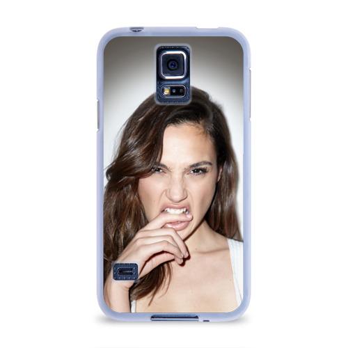 Чехол для Samsung Galaxy S5 силиконовый  Фото 01, Галь Гадот