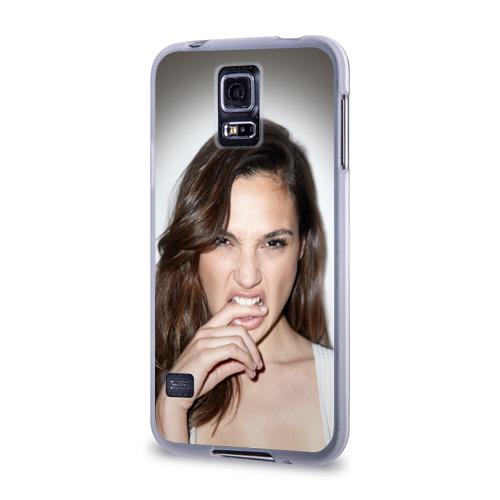 Чехол для Samsung Galaxy S5 силиконовый  Фото 03, Галь Гадот