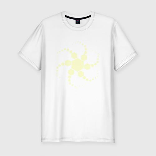 Мужская футболка премиум Цефалон Суда Gold Warframe
