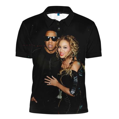 Мужская рубашка поло 3D  Фото 01, Джей-Зи, Бейонсе