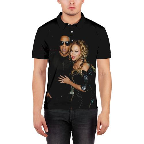Мужская рубашка поло 3D  Фото 03, Джей-Зи, Бейонсе
