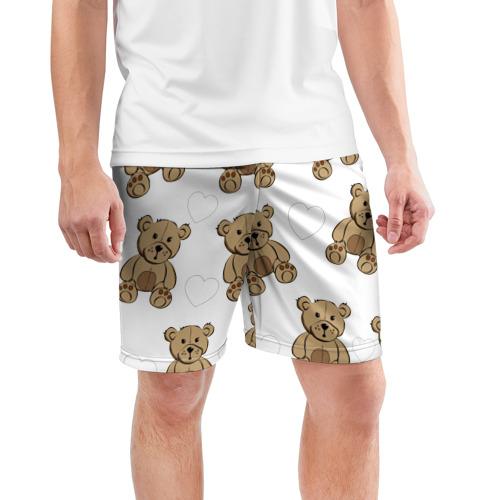Мужские шорты 3D спортивные  Фото 03, Плюшевые мишки