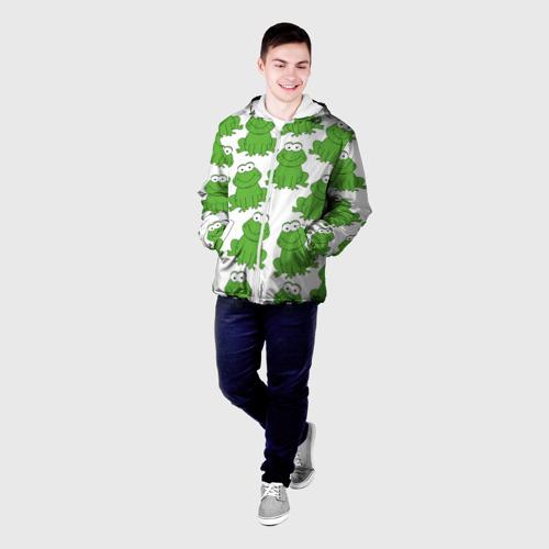 Мужская куртка 3D  Фото 03, Лягушки