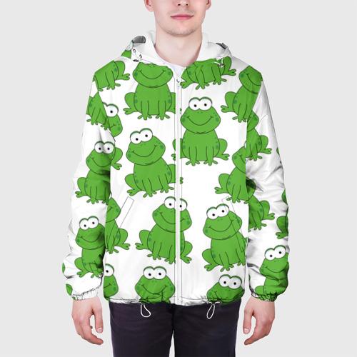 Мужская куртка 3D  Фото 04, Лягушки