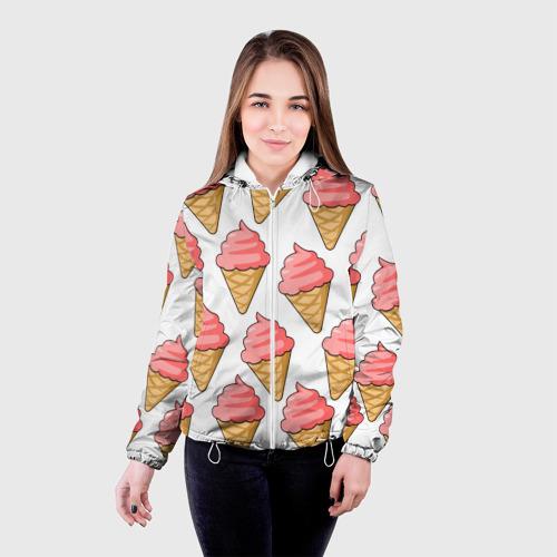 Женская куртка 3D  Фото 03, Мороженки