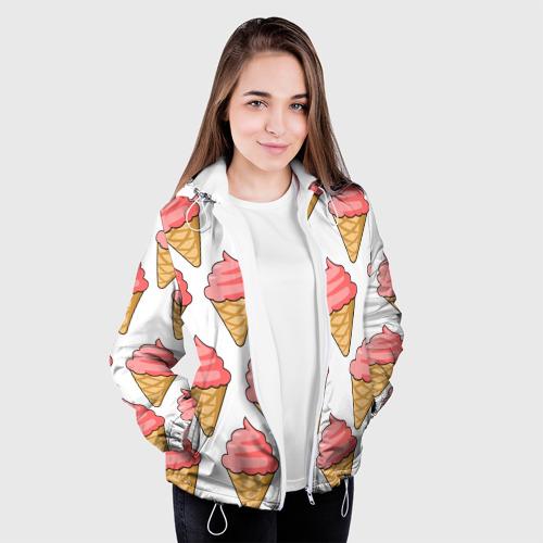 Женская куртка 3D  Фото 04, Мороженки