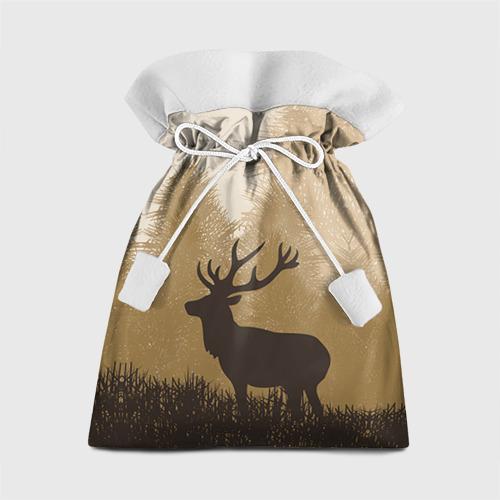 Подарочный 3D мешок Олень