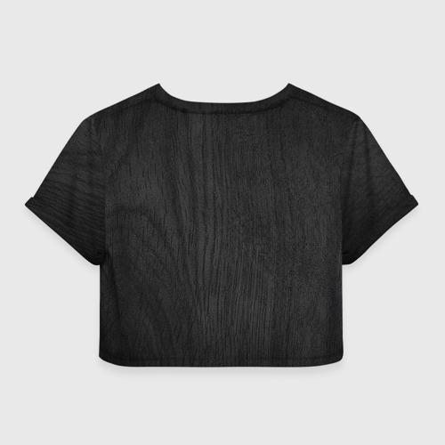 Женская футболка 3D укороченная  Фото 02, Трофей