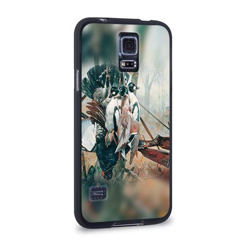 Чехол для Samsung Galaxy S5 силиконовый  Фото 02, Утки