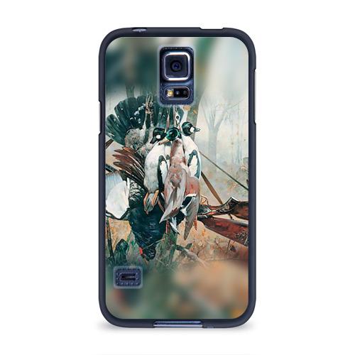 Чехол для Samsung Galaxy S5 силиконовый  Фото 01, Утки