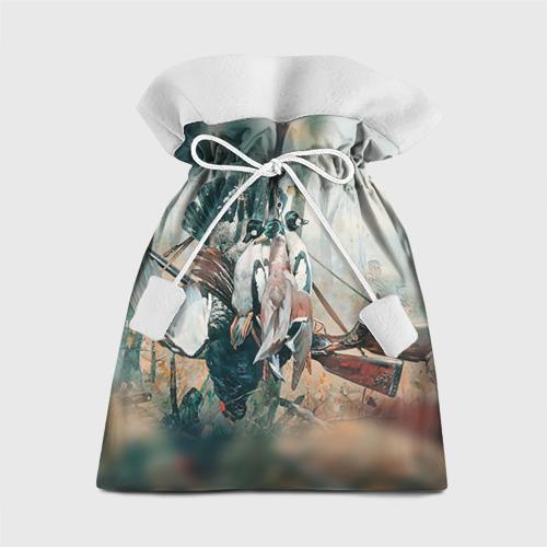 Подарочный 3D мешок Утки