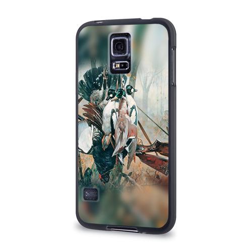 Чехол для Samsung Galaxy S5 силиконовый  Фото 03, Утки