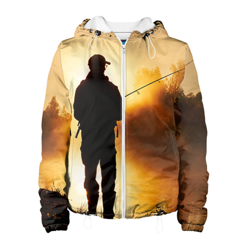 Женская куртка 3D Рыбак Фото 01