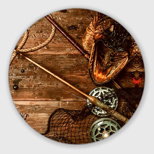 Коврик для мышки круглый Рыбацкий стол Фото 01