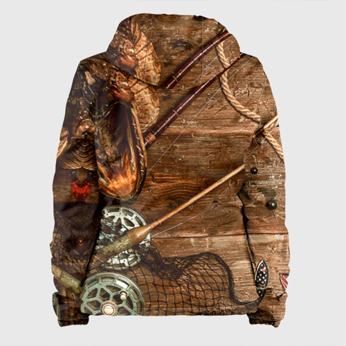 Женская куртка 3D Рыбацкий стол Фото 01