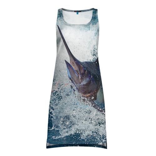 Платье-майка 3D Рыбалка 1