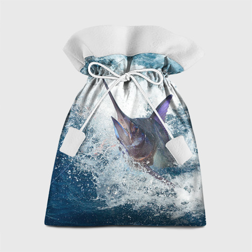 Подарочный 3D мешок Рыбалка 1