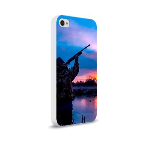 Чехол для Apple iPhone 4/4S soft-touch  Фото 02, Охотник