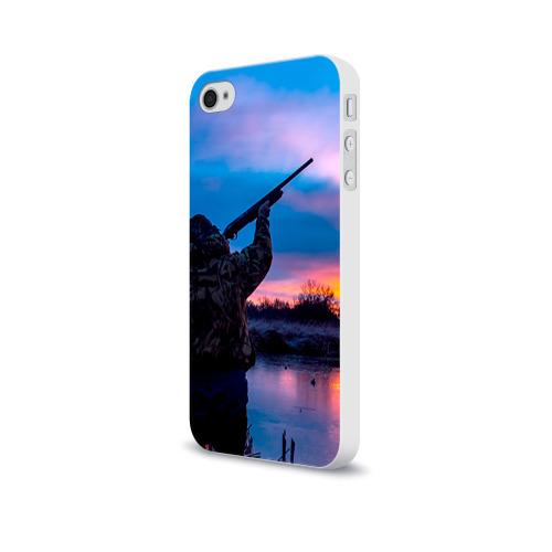 Чехол для Apple iPhone 4/4S soft-touch  Фото 03, Охотник