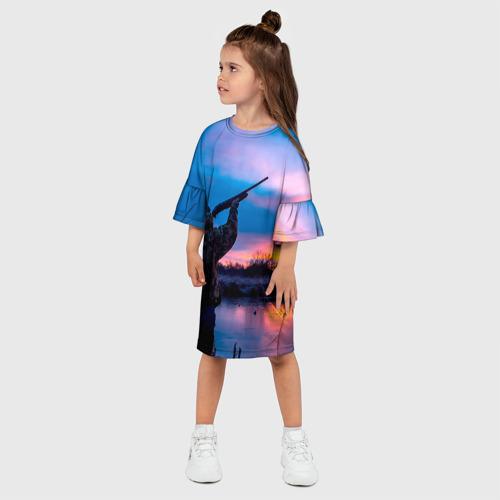 Детское платье 3D  Фото 03, Охотник