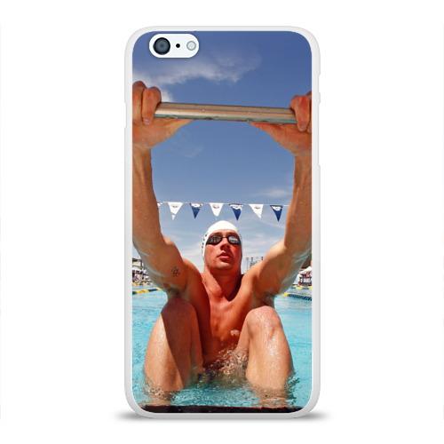 Чехол для Apple iPhone 6Plus/6SPlus силиконовый глянцевый  Фото 01, Ryan Lochte