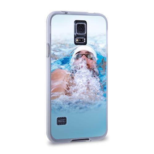 Чехол для Samsung Galaxy S5 силиконовый  Фото 02, Michael Phelps