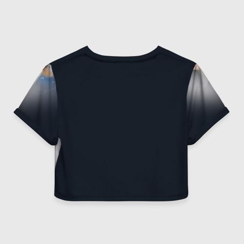 Женская футболка 3D укороченная  Фото 02, АДАМ ПИТИ