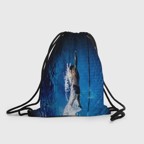 Рюкзак-мешок 3D Пловец Фото 01