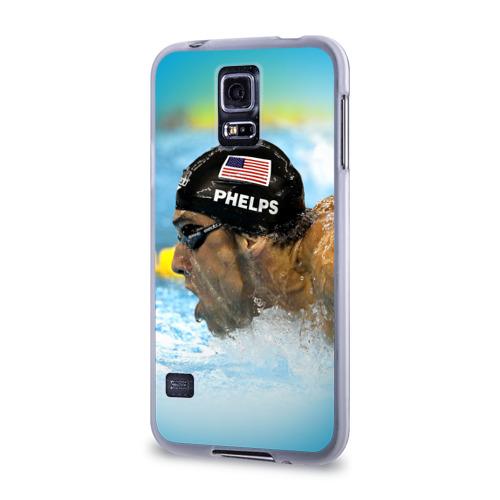 Чехол для Samsung Galaxy S5 силиконовый  Фото 03, Michael Phelps