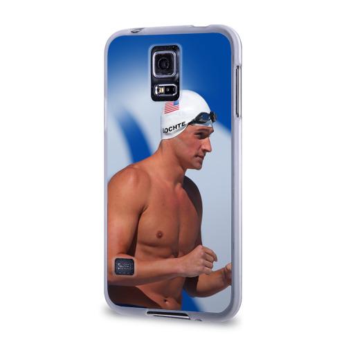 Чехол для Samsung Galaxy S5 силиконовый  Фото 03, Ryan Lochte