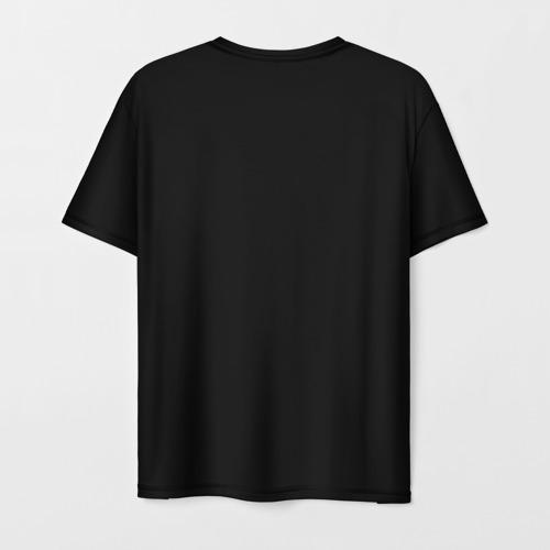 Мужская футболка 3D Пловец Фото 01